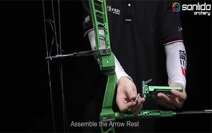 CBS003 Install the Arrow Rest onto Hero X10 Bow