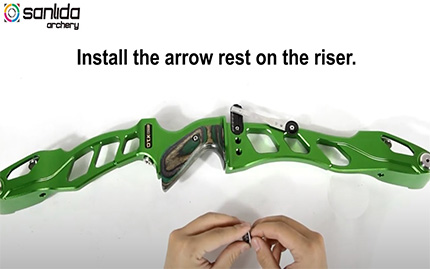 RBS001 X10 Recurve Arrow Rest Installation