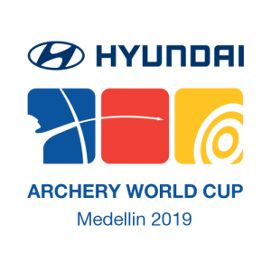 Sanlida Archery bow exhibited on Archery World Cup 2019 Meddelin Stage